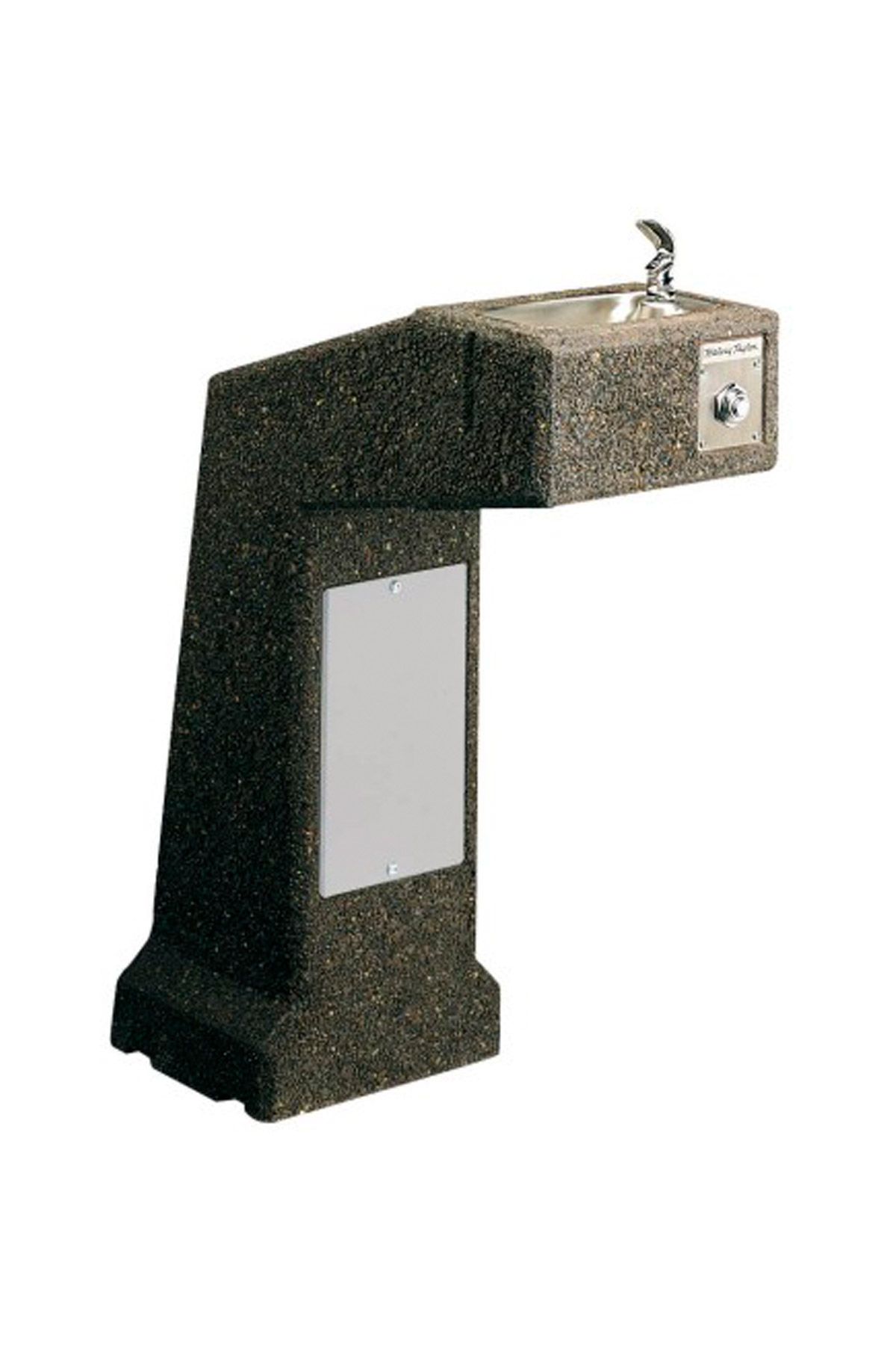 Pedestal De Piedra Texturizado 4590 Bebederos De Agua